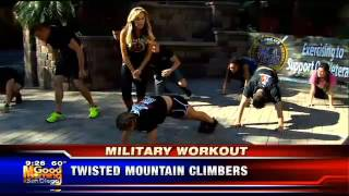 Cindy Whitmarsh EX4VETS VI Military Workout