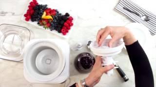 Cuisinart Fruit Scoop Demo (ICE-31)