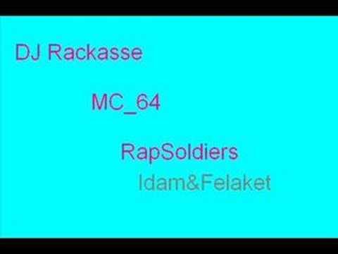 Rapsoldiers ft MC 64 & DJ Rackasse-Halime bakda agla