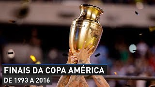 FINALS OF THE COPA AMERICA (FROM 1993 TO 2016)