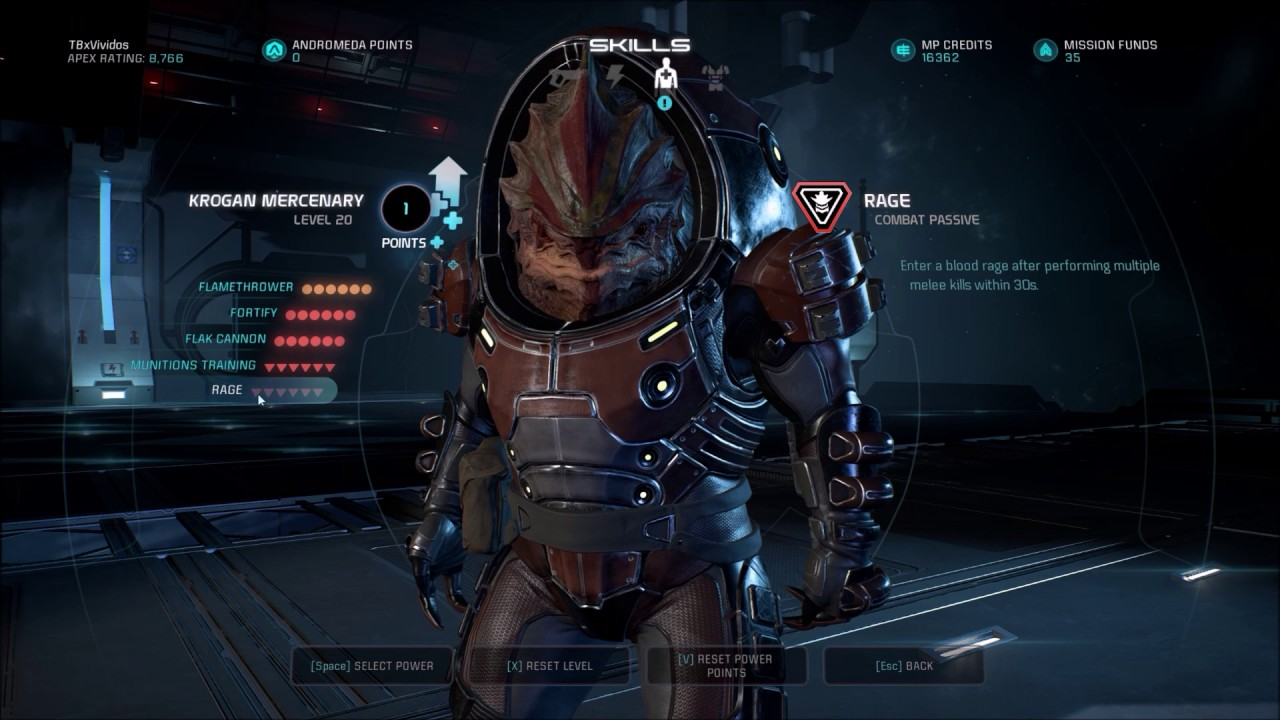 Mass Effect Andromeda Best Build