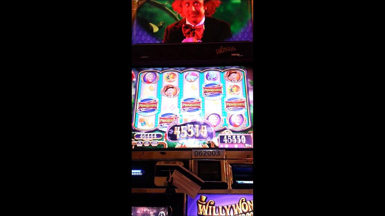 Willy wonka slot machine