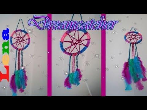 Traumfänger Für Kinder Selber Machen How To Make A Dreamcatcher For Kids Diy Dream Catcher Easy