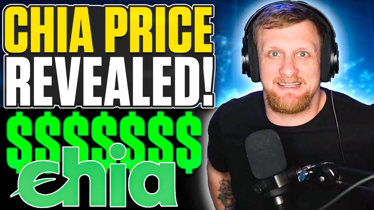 Chia Official Price   Farming Profits