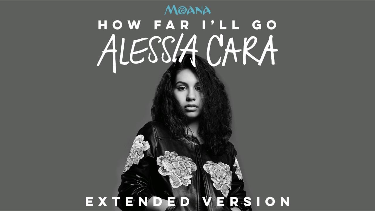 Alessia Cara - How Far I'll Go (Official Video) - YouTube