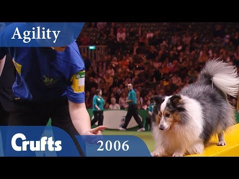 Young Kennel Club Agility Final from Crufts 2006 | Crufts Classics