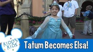 Kidd's Kids 2014 - Tatum Becomes Elsa!