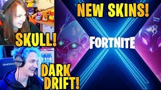 Streamers React to *NEW* Season 10 Battle Pass Skins! *TIME TRAVEL* | Fortnite Highlights