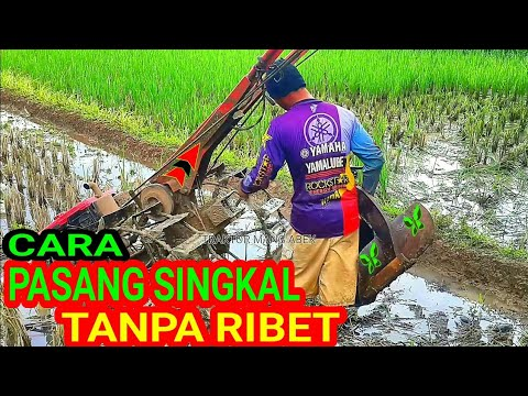 Download Traktor sawah pemasangan singkal/luku || traktor ngebut quick yanmar yst pro xl
