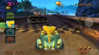 COCOTO KART RACER - VIDEOGAME - NINTENDO WII - GAMEPLAY FOOTAGE - 2008