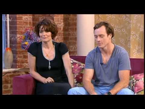 Toby Stephens and Anna Chancellor on This Morning 09072013