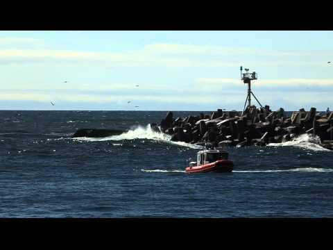 Scallop Boat Crashed Manasquan Inlet