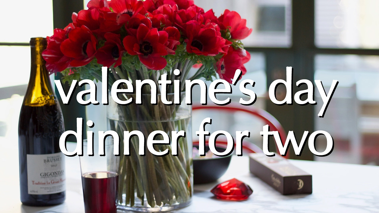 Dinner Party Tonight Valentine S Day Dinner For Two Youtube