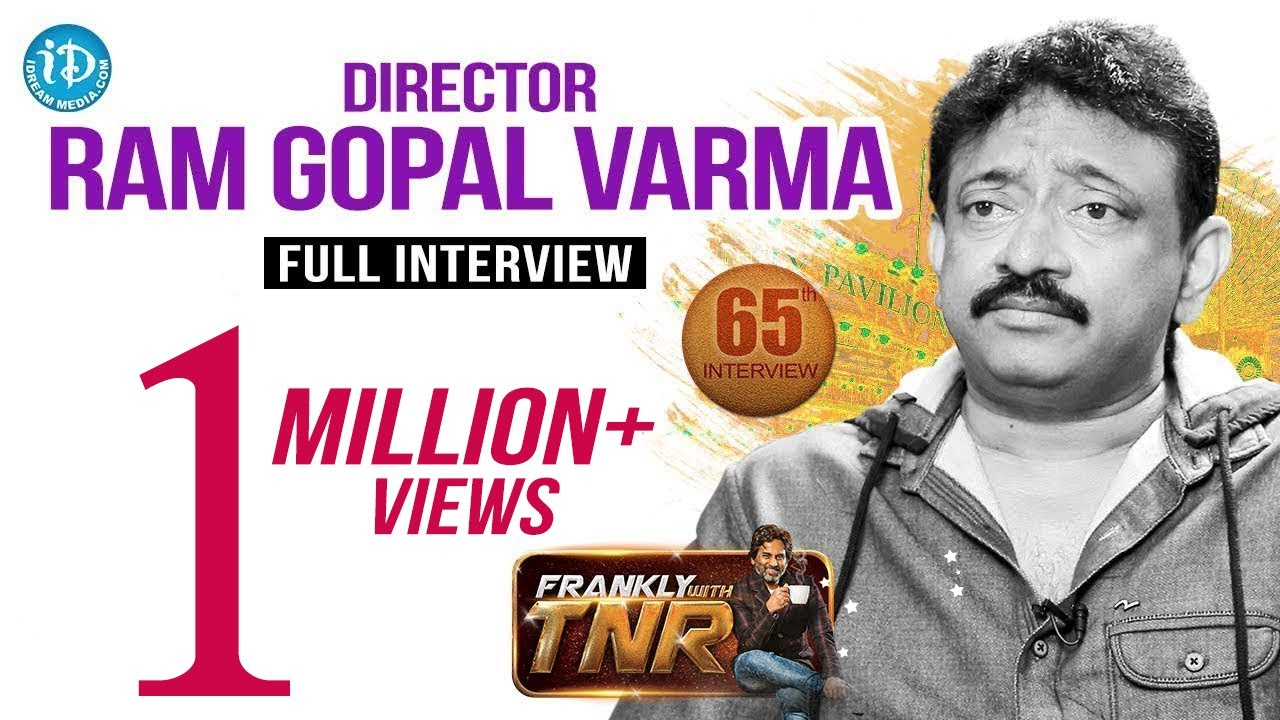 Download Director Ram Gopal Varma Full Interview || Frankly With TNR #65 || Talking Movies With iDream 405