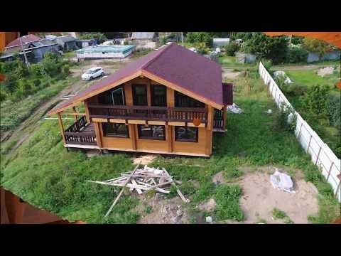 Дом из двойного бруса Астон