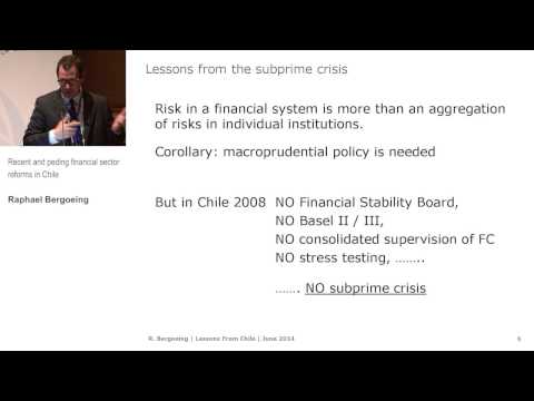 TIS Conference - Financial Sector Reform: Experience from Chile (1.1)