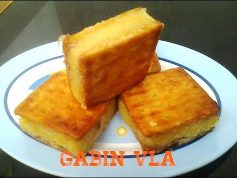 Resep Cara Membuat Gabin Goreng Isi Vla Susu Vanilla Enak