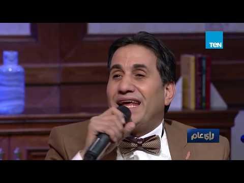 النجم «أحمد شيبة» يبكي بسبب غنائه «لأمه»