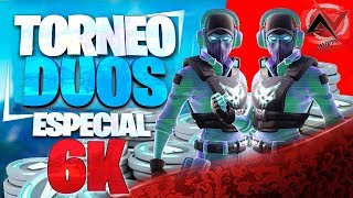 🔴 SPECIAL 6K 🔴 TORNEO DUOS WITH AWARD 2 SKIN +1000VBUCKS / *FORTNITE CHILE* /*PRIVATE PARTIES*