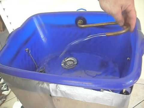 Portable Camping Sink Youtube