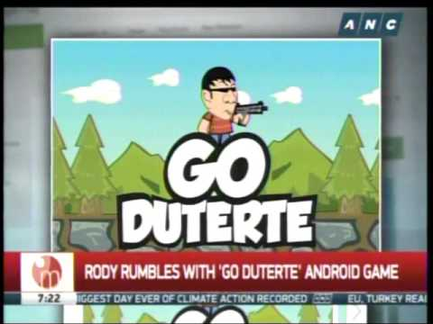 Rody rumbles with 'Go Duterte' game app