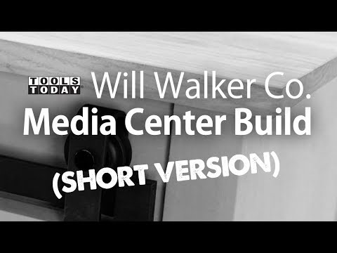 Woodworking Project: Building a Media Console (Short Version) | ToolsToday