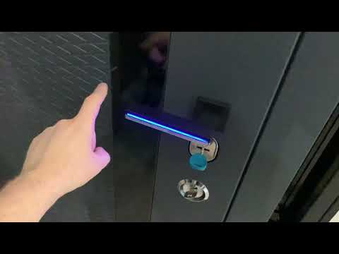 Двери Булат ручка с подсветкой