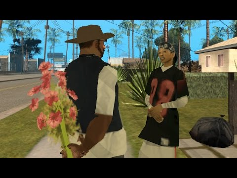 GTA San Andreas - How to quickly increase the dating progress with any girlfriend