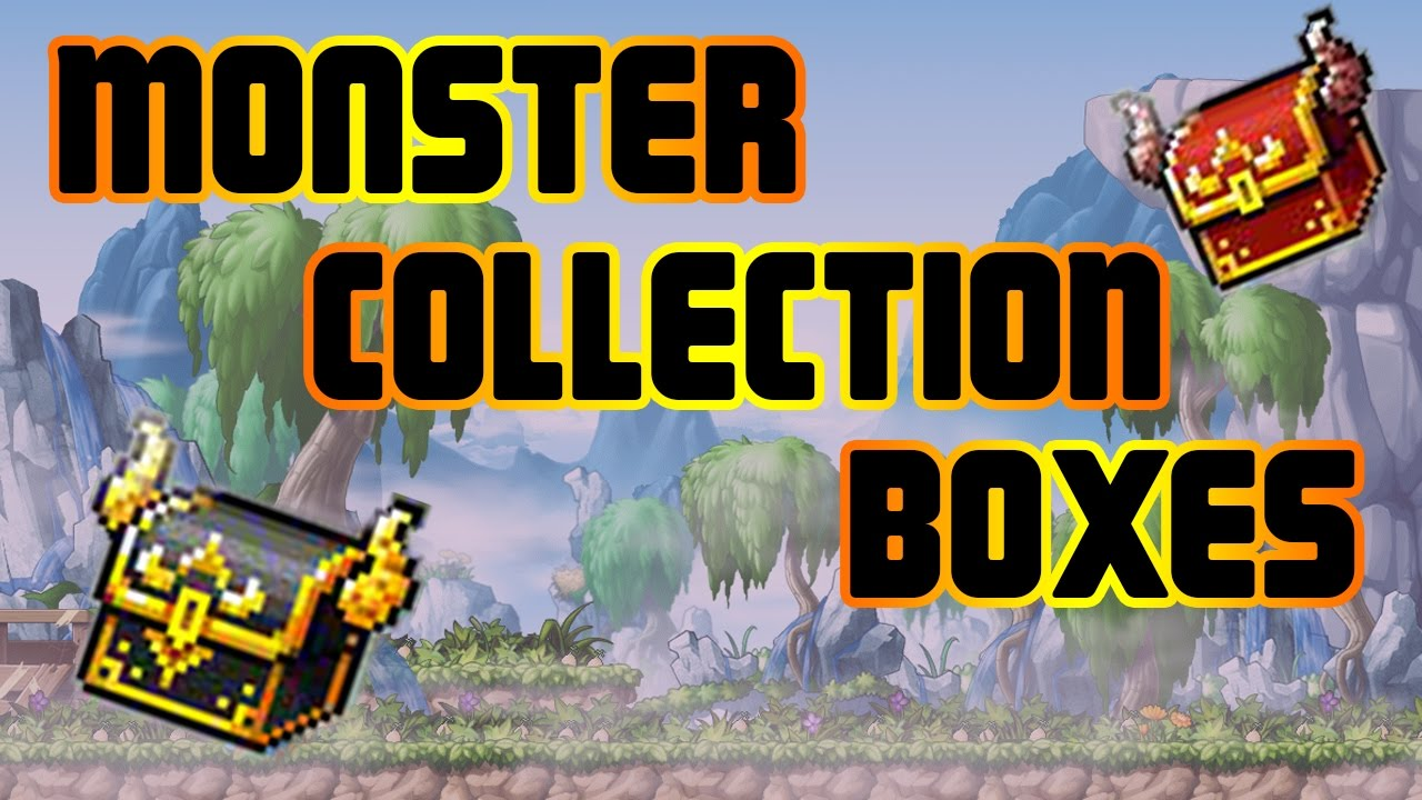 maplesory opening monster collection boxes 67 adequate 7
