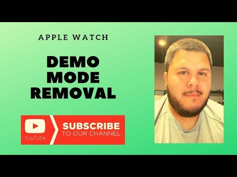 How To Remove DEMO MODE On Apple Watch 1 2 3 4 5 (Permanent Fix)
