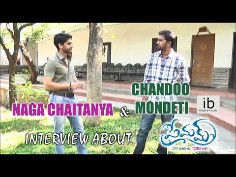 Naga Chaitanya & Chandoo Mondeti interview about Premam - idlebrain.com