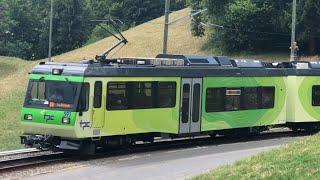 [FR/DE] Trafic ferroviaire/Bahnverkehr TPC (ASD-Aigle Sépey Diablerets) - Transports Publics Suisses