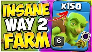 Proof Mass Goblin is the Best TH9 Farming Strategy | 60k Dark Elixir an Hour in Clash of Clans