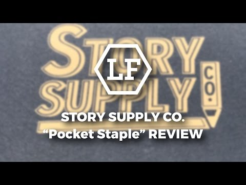 Story Supply Co. Pocket Staple Review
