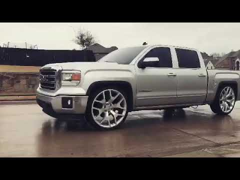 "2014 sierra with mcgaughys 3/5 drop 26"" replicas and TSP ..."