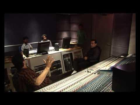 AAMIR KHAN -A R REHMAN- ASIN kaise mujhe songs making rare video