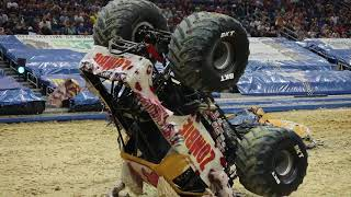 Zombie Driver Bari Musawwir's Stoppie at Amalie Arena in Tampa