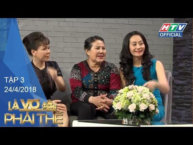 HTV LÀ VỢ PHẢI THẾ 2 | Bật khóc vì lá thư thiên thần Hải An gửi đến mẹ | LVPT #3 FULL |24/4/2018