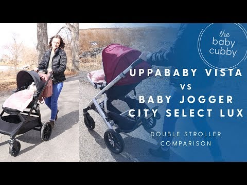 Baby Jogger City Select Lux Vs Uppababy Vista Comparison