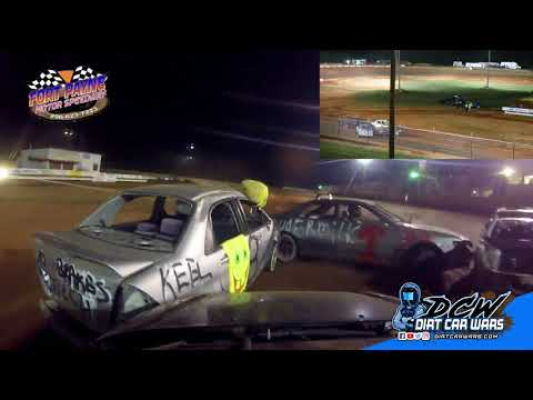 3 Car Chain Race on 9-22-18 at Fort Payne Motor Speedway