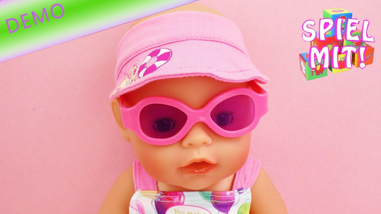 Baby Born Badeanzug Set Der Sommer Kann Kommen Strandoutfit Für
