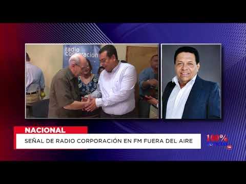 Señal de Radio Corporación en FM fuera del aire