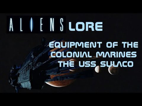 Aliens Universe Lore : the equipment of the colonial marines the uss sulaco