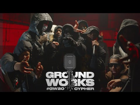 #GW20 Groundworks Cypher 2020: Unknown T, Digga D, M1llionz, KO, Teeway, DA, Tugz, V9 & more