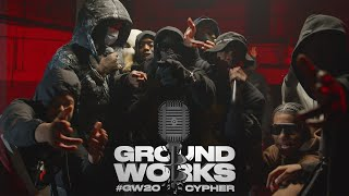 #GW20 Groundworks Cypher 2020: Unknown T, Digga D, M1llionz, KO, Teeway, DA, Tugz, V9 \u0026 more