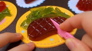 포핀쿠킨-요리통통구미2 Heart-Food Gummy Making Kit