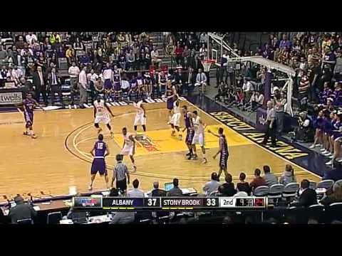 2013 Men's Basketball Semifinals: No. 4 Albany 61, No. 1 Stony Brook 59