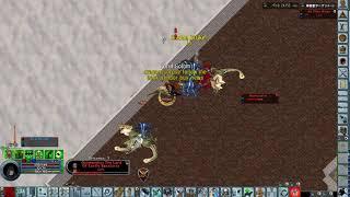 """Ultima Online Shadow Guard """"roof"""" Ozymandias with my buddy"""