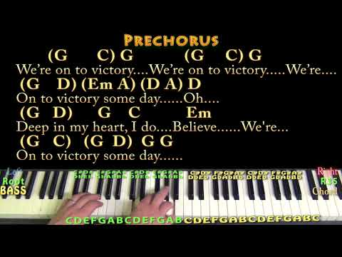 We Shall Overcome Hymn Piano Cover Lesson In G With Chordslyrics
