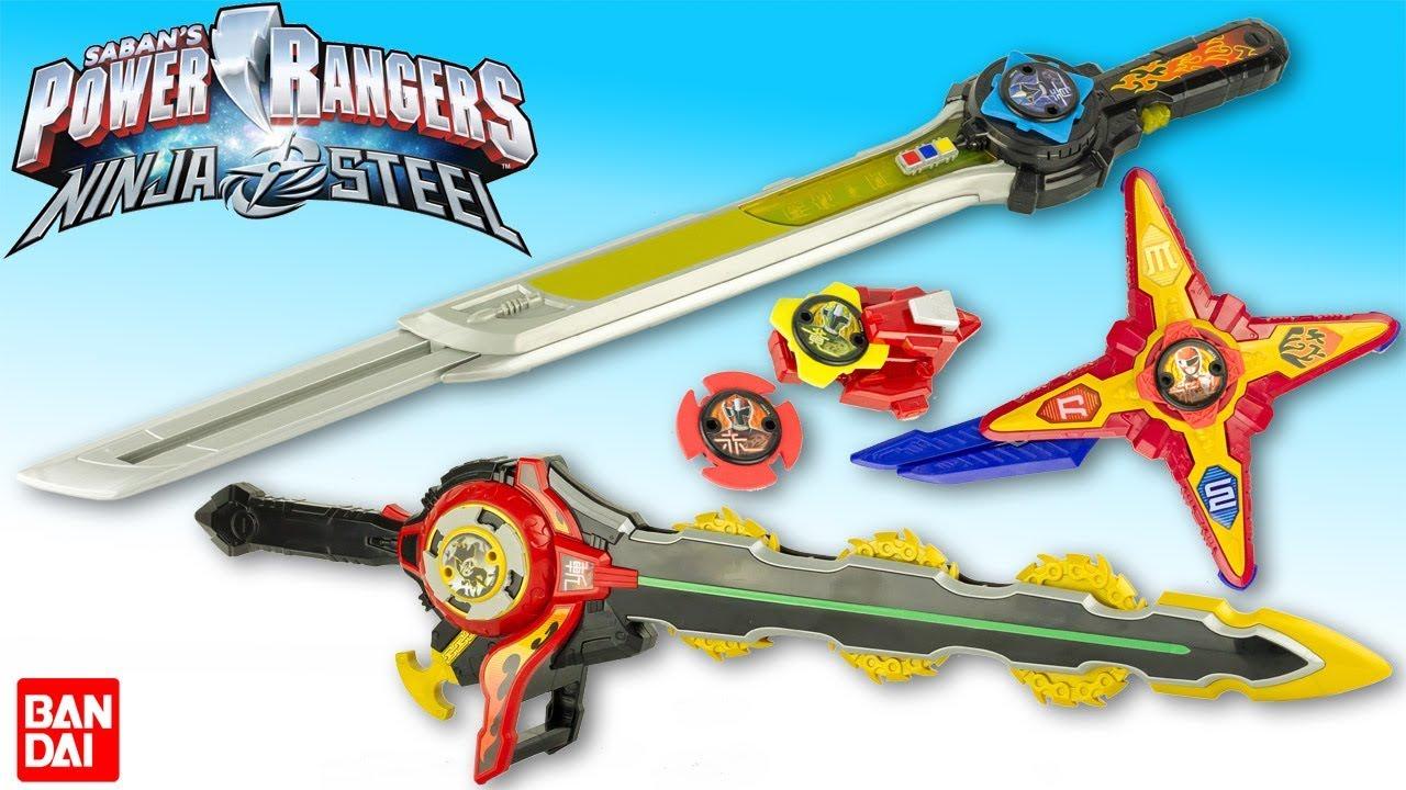 Coloriage Etoile De Pouvoir.Power Rangers Ninja Steel Master Blade Sabre Dx Morpher Accessoires